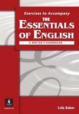Essentials of English: a Writer's Handbook Workbook, the
