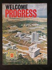 1962 souvenir magazine  opening of British Rothmans cigarettes factory Malaya