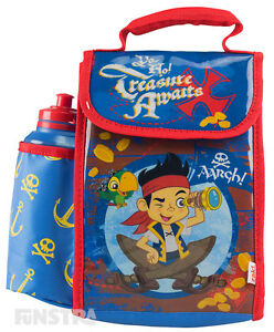 Jake and the Never Land Pirates Lunch Bag Kids Boys Insulated Lunch Box Skully
