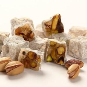 Turkish Delight Pistachio, Turkish candies,Sweet, Premium Quality, Free Shipping