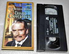 David Copperfield VHS Sir Laurence Olivier Charles Dickens Autobiography 1970