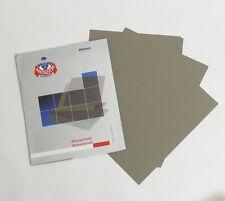"""MATADOR SANDPAPER  Wet / Dry  10 pc.  9""""x11""""  3000 Grit Premium Silicone Carbide"""