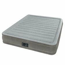 """Queen Size Air Bed Mattress 13"""" Built In Electric Pump Raised Guest Inflatable"""
