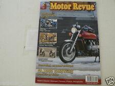 MOTOR REVUE 2010-02 POSTER HONDA GL1000 GOLDWING & NSU MAX,GUZZI NEVADA 750,TT