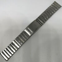 NSA vintage watch bracelet satin steel 18.5 mm Swiss Made