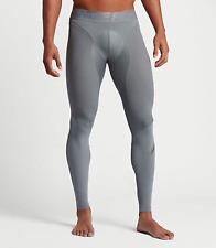Men's Nike Zonal Strength Training Running Gym Tights, 839487-065 Grey XL