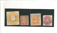 Pr Vor / PADERBORN je Ra2 auf 3 Sgr.-Kopf-GAA (viereckig), Pr. 1, Briefstück 12a