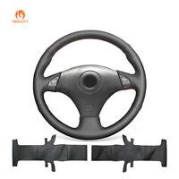 MEWANT Soft Leather Steering Wheel Cover for Toyota RAV4 Corolla Lexus IS200 300