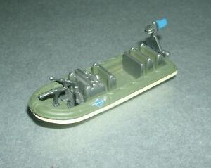 "1/150 N Scale Military Rigid Inflatable Boat ""RIB"" Toy ('96 LGTI) Micro Machines"