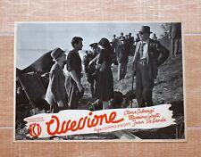 OSSESSIONE fotobusta poster Luchino Visconti Calamai Girotti de Landa Auto T53