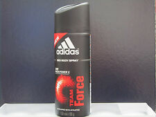 Adidas Team Force Deodorant Body Spray 24H Fresh Power 5 oz For Men