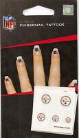Pittsburgh Steelers Logo Fingernail Tattoos - Pkg of 20