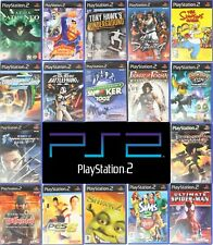 Sony PlayStation 2 PS2 Games M-Z  Pick Up Your Game Multi Buy Discount Free P&P