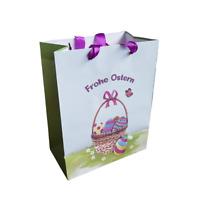 Ostertüte Geschenktüte Frohe Ostern Tragetasche Geschenkverpackung 🐰🐣