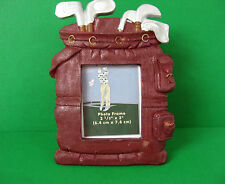 "Tien Hsing Intl.Trading Co. Vintage Golf Bag Photo Frame Holds 2.5"" x 3"" Photo"