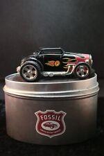 Fossil Standuhr Hot rod Auto car Limited Edition Tisch Uhr desk watch