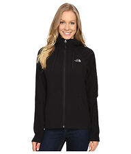 New Women's North Face Fleece Mezzaluna Hoodie Jacket Black Medium
