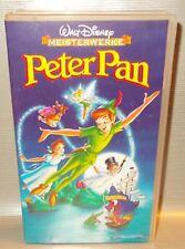 VHS Walt Disney Meisterwerke Peter Pan Kinofilm Originalkassette