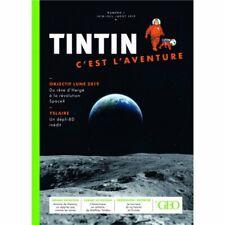 TINTIN c'est l'aventure N°1 (collection GEO)