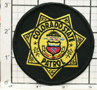 Colorado State Patrol Patch Police Department Round 3.1""