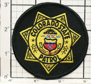 """Colorado State Patrol Patch Police Department Round 3.1"""""""