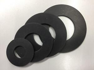 Flanschdichtung Flachdichtung DN15 - DN200 Gummi EPDM Stärke 3mm DIN2690