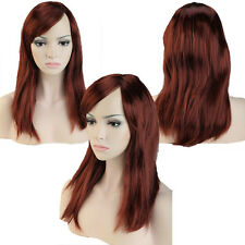Big Deal Women Lady Wigs Full Head Wig For Costume Colors Black Blue Blonde Red