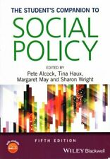 The Student's Companion to Social Policy by Pete Alcock 9781118965979