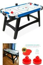 "Air Powered Hockey Table Game Room 2 Pucks LED Electronic Score Board 58"" Gift"