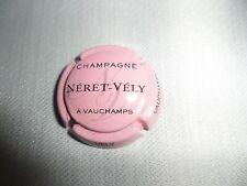 Capsule de Champagne Néret- Vély à Vauchamps état voir les 2 photos