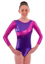 27930b3d2556 Deluxe Girls Show Gymnastic Gym Leotards for Dancewear, Gym and Dance Shows