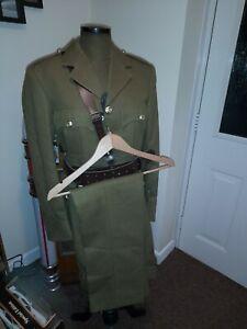 Royal Engineers - Officer's No2 Uniform Jacket & Sam Browne Belt  Army 1950s