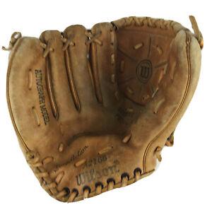 Jim 'Catfish' Hunter Signature Glove-Wilson Model A-2166, Left Handed