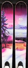 13-14 Salomon Q-103 Stella Women's Demo Skis w/Bindings Size 158cm #250202