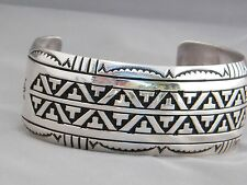 Rosita & Tommy Singer Native American Mountain Pattern Men's Bracelet