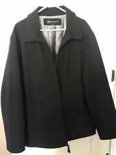 BACHRACH MEN'S QUILTED LINED JACKET - XXL