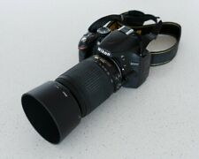 Nikon D3200 24.2 MP Digital SLR Camera Kit - Black (18-55mm & 55-200mm Lenses)