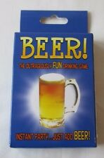 44065 BEER THE OUTRAGEOUSLY FUN DRINKING GAME CARD ADULT PARTY GIFT IDEA