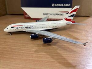 British Airways A380 1:400 (Reg G-XLED) GJBAW1932 Gemini Jets