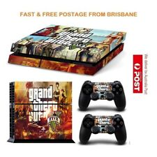 GTA V PS4 Playstation 4 Decal Skin Sticker Brand New In Stock From Brisbane