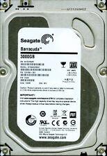 SEAGATE SATA 3TB ST3000DM001,  1CH166-301,  CC24,  WU,  W1F2