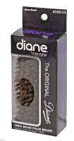 """Diane #BB105 Palm Hair Brush 100% Boar 5"""" long"""