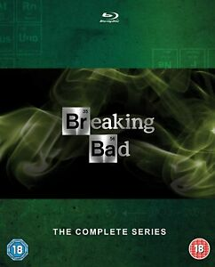 Breaking Bad, The Complete Series, 15 Disc Blu-Ray Box Set
