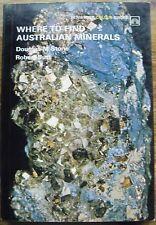 """Where To Find Australian Minerals"" D.Stone & R.Butt (Paperback, 1972)  V G C"