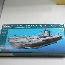 Revell Modellbausatz, 1:350 Deutsches U-Boot, # 05033
