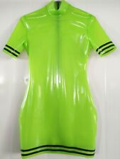 Latex Catsuit Rubber Tights Women's sexy Dress Suit fashion 0.4mm handmade