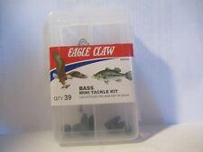 Eagle Claw Bass Mini Fishing Tackle Kit Brand New!!!