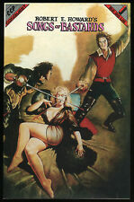 Robert E Howard Songs of Bastards comic REH Marcus Boas Maelo Cintron art Rare