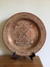 antique hispano moresque pottery lustre large brazier