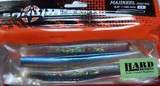 Leurre souple Sakura Majikeel Shad Tail Hard 16,5cm Clear Holo Blue Back